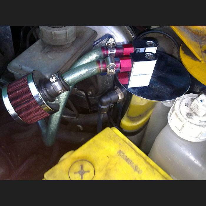 Фильтр картерных газов на ваз