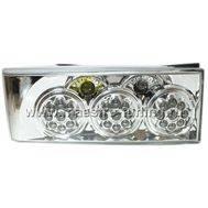 Задние диодные фонари хром Torino для ВАЗ 2108-21099 DL-5266 NLF, фото 1
