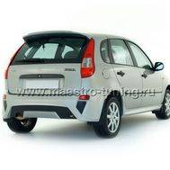 Задний бампер Bavaria для Лада Калина хетчбек в цвет автомобиля., фото 1