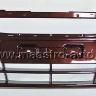Заводской передний бампер для Лада Гранта, в цвет автомобиля, фото 1
