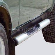 Пороги «Труба с проступью» с пластиковой заглушкой ВАЗ 21213, фото 1