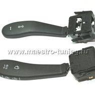 Заводской подрулевой переключатель для автомобиля ВАЗ 2110-11-12 ( старая панель ), без провода., фото 1