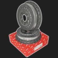 Барабан тормозной «LUCAS-TRW» чугунный ВАЗ 2108-21099, 2110-2112, 2113-2115, Калина, Приора, Гранта, Калина 2 (комплект 2 штуки), фото 1