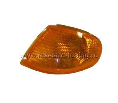 Поворотник для ВАЗ 2113-14-15 AL BOSCH, левый, жёлтый., фото 1