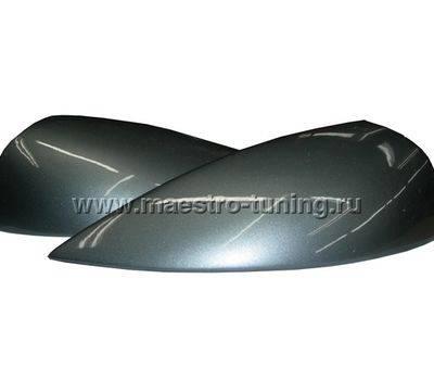 Реснички на фары в цвет автомобиля Лада Приора, большие., фото 1