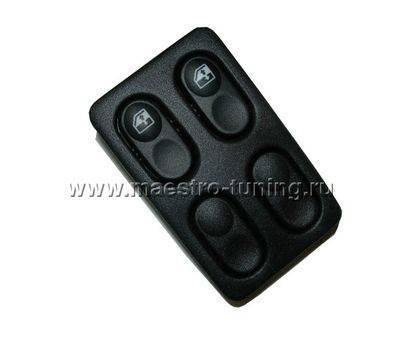 Блок управления стекло-подъёмником К330 2110-3709720 для ВАЗ 2110-11-12 на 2 кнопки., фото 1