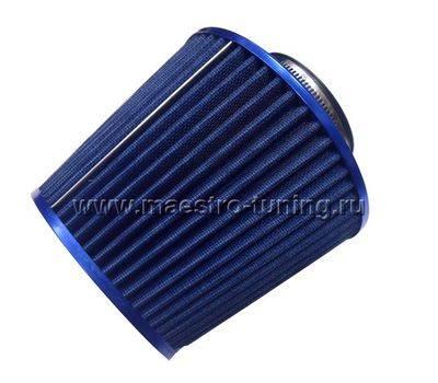 Воздушный фильтр нулевого сопротивления PROSPORT, инжекторный (синий, конус)., фото 2