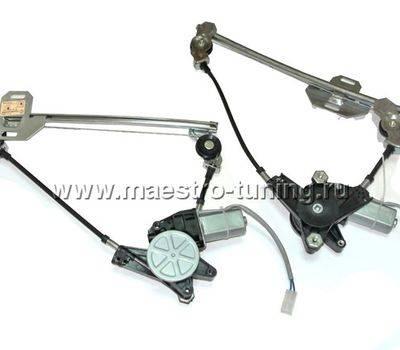 Комплект задних электрических стеклоподъёмников ВАЗ 2110-12., фото 1