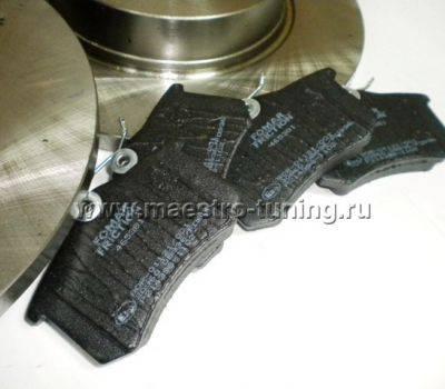 """Задние дисковые тормоза 13"""" Luсas под ABS для ВАЗ 2108-2172, фото 8"""