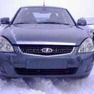 Заводской передний бампер для Лада Приора SE, в цвет автомобиля, фото 1