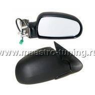 Боковые зеркала для автомобиля Лада Калина, с электро-регулировкой, старого образца., фото 1