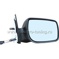 Боковые зеркала для автомобиля Лада Калина, нового образца, с механической регулировкой., фото 1