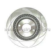 Передние тормозные диски Alnas Euro 2108-02 R13 (проточки), фото 1