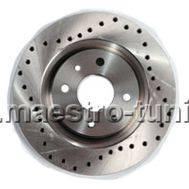 Передние тормозные диски Alnas Sport 2112-03 (перфорация), фото 1
