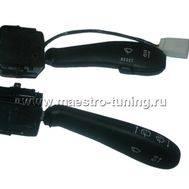 Заводской подрулевой переключатель для автомобиля ВАЗ 2110-11-12 ( Евро панель ), с проводом., фото 1