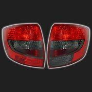 Фонари задние красные/тонированные, тип 1 «ТЮН-АВТО» ВАЗ 2190 /Лада-Гранта/ (комплект правый + левый), фото 1