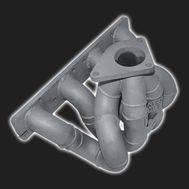 Турбоколлектор 16V «TURBOTEMA» под турбокомпрессор TD04L, TD05 ВАЗ 2108-21099, 2110-2112, 2113-2115, Калина, Приора, Гранта, Калина 2, фото 1
