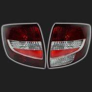 Фонари задние красные/тонированные, тип 2 «ТЮН-АВТО» ВАЗ 2190 /Лада-Гранта/ (комплект правый + левый), фото 1