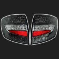 Фонари задние светодиодные, хром/тонированные «SKV» ВАЗ 2190 /Лада-Гранта/ (комплект правый + левый), фото 1