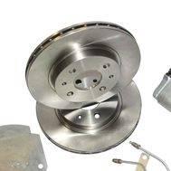 "Тормоза дисковые задние 13 ""Дизайн-Сервис"" (2108-2110 Priora Калина) под АБС, фото 1"