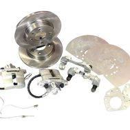 """Тормоза дисковые задние 13 """"Дизайн-Сервис"""" (2108-2110 Priora Калина) под г/ручник, фото 1"""