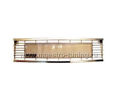 Декоративная решётка радиатора Ваз 2105 Хром, с сеткой., фото 1
