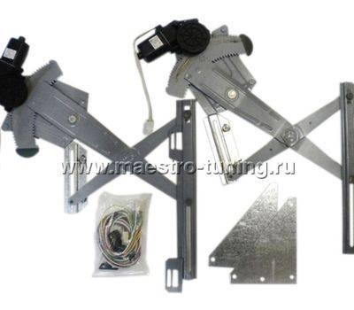 """Комплект передних электрических стеклоподъёмников рычажного типа """"Катран""""., фото 1"""