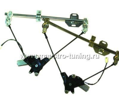 Комплект передних электрических стеклоподъёмников ВАЗ 2110-12., фото 1