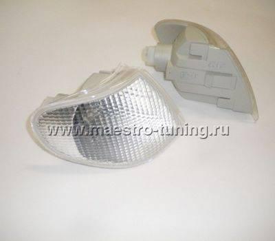 Поворотник для ВАЗ 2113-14-15 Киржач, левый, белый., фото 3