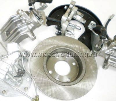 """Задние дисковые тормоза 13"""" Luсas под ABS для ВАЗ 2108-2172, фото 10"""