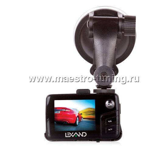 Видеорегистратор lexand lr-2500 звук установка видеорегистратора каркам 2